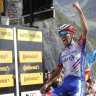 Thibaut Pinot transforms rage into iconic win as Thomas loses ground