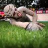 Mud-caked Colbrelli wins epic Paris-Roubaix classic