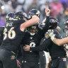 NFL wrap: Ravens sink 49ers
