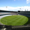 This was the MCG on September 26, what would usually be grand final day. Instead it's one day in October.