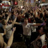 England fans dare to dream, take over streets after shootout win