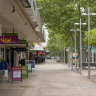 Shepparton goes quiet as community sweats on test results