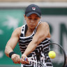 'No question': Laver a believer in Barty's French Open bid