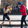 'It's saved more people than it hurts': The rising popularity of women's boxing