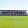Moreton Daily Stadium, the Dolphins' base at Redcliffe.