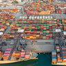 China's Yantian port.