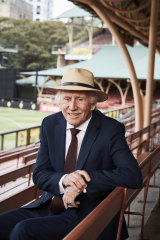 Ian Chappell at North Sydney Oval.