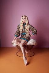 Gucci dress.