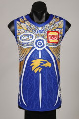 Eagles defender Lewis Jetta said the design process started with a conversation about helping supporters understand Aboriginal culture and its significance.