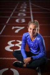 Australian runner Hana Basic.