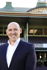 Cricket Australia chief Nick Hockley.