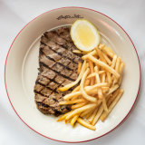 The steak frites at Entrecote.