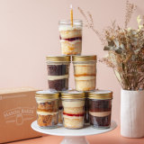 The Mason Baker, based in Queensland, post cupcakes in a jar to addresses across Australia.