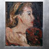 Danila Vassilieff, Lizaveta with My Hair Ribbon, 1947.