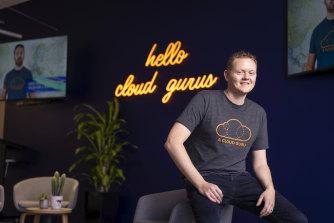 A Cloud Guru co-founder and chief executive Sam Kroonenburg.