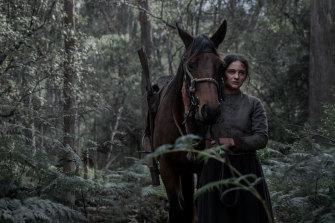 Aisling Franciosi as Irish convict Clare.
