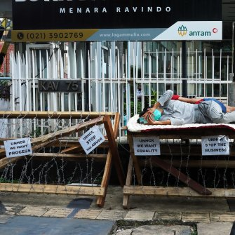 Refugees in Indonesia have limited rights.