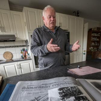 Historian Keith Leydon has investigated the  first Wonnangatta Valley murders.