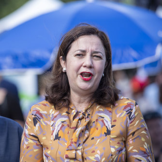 "Queensland Premier Annastacia Palaszczuk thinks the community is ""fed up"" with the Adani approval process."