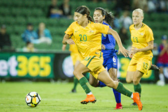The Matildas rose to international prominence at the Tournament of Nations.