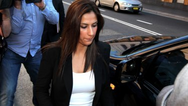 Mick Hawi's wife Carolina Gonzales, pictured in 2011, received permission to extract her late husband's sperm.