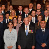 The new, 24-member NSW cabinet was sworn-in earlier this month.
