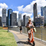 Brisbane's e-scooter trial to continue for another year