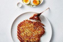 Swordfish schnitzel.
