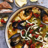 Neil Perry's prawn and mussel saffron stew