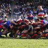 Shute Shield round four teams