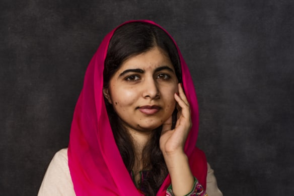 Malala Yousafzai, Pakistani activist for female education and the youngest Nobel Prize laureate, in Sydney in December 2018.