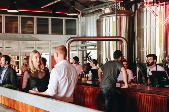 Felons Brewing Co has become a social destination for Brisbane.