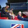 The Batmobile back at Waverley where it belongs