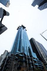 The Australia 108 building on Southbank Boulevard is still under construction.