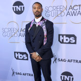 Michael B. Jordan at the 25th annual Screen Actors Guild Awards.