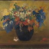 Paul Gauguin. A Vase of Flowers. 1896.