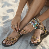 Elle Ferguson's Bondi beach sandal.