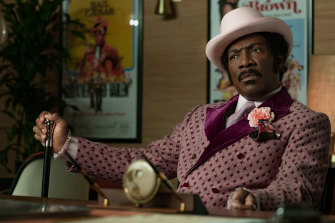 Eddie Murphy is up for best actor in a comedy for his performance in Netflix's Dolemite Is My Name.