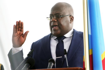 President Felix Tshisekedi declared a state of siege in Congo's North Kivu and Ituri provinces on May 1.