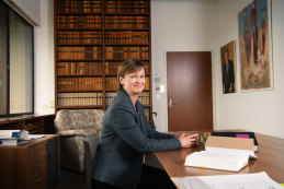 Swearing in: New High Court Justice Jacqueline Gleeson.