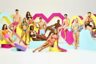 The cast of Love Island.