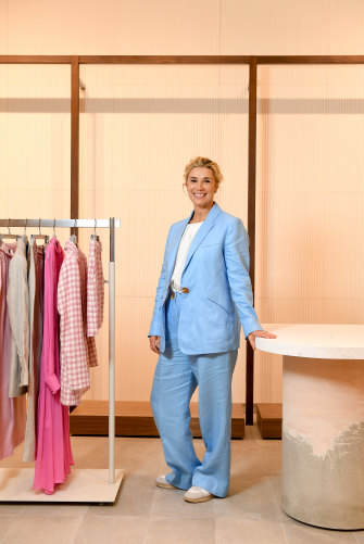 Country Road MD Elle Roseby gambled that some customers would be willing to pay nearly double for an Australian-made top.