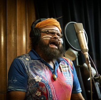 One of the Midnight Oil's collaborators,  Bunna Lawrie, is a Mirning elder, whale songman and pioneering Indigenous rocker with his band Coloured Stone.