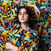 Photos of the week, September 19. Mia models the Fairfield print