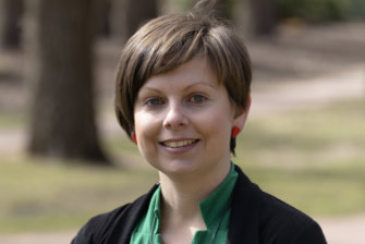 Greens lead candidate for the Senate Penny Kyburz.