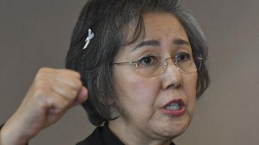 Yanghee Lee, U.N. special envoy on human rights in Myanmar.