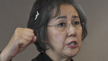 Yanghee Lee, the UN's special rapporteur on human rights in Myanmar.