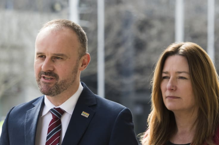 Chief Minister Andrew Barr said all drivers, except those breaking the law, would be covered by the scheme regardless of fault.