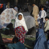 'What will happen to our country?' Fear in Kabul's makeshift camps