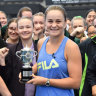 Barty's ruthless streak well intact despite scaling ranking summit